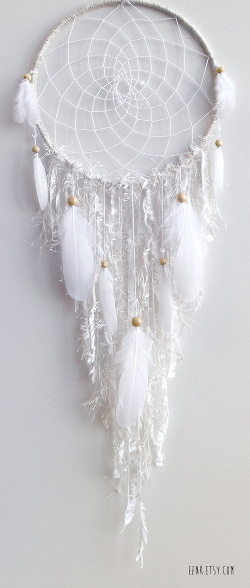 #white #dreamcatcher