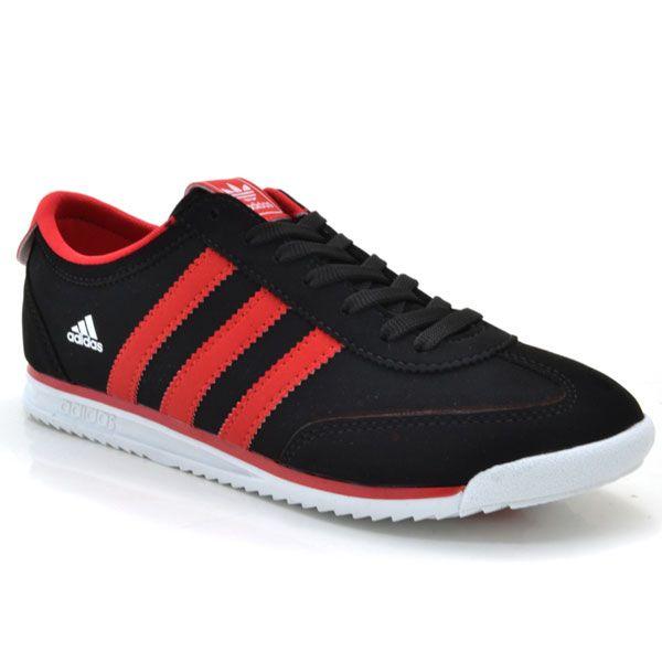 Adidas 975 Napa Siyah-Kırmızı