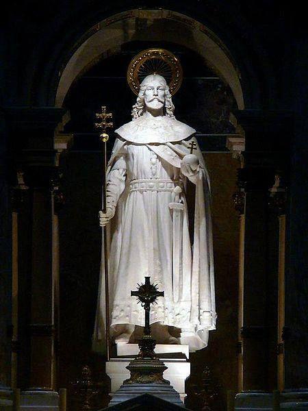 Stróbl Alajos Szent István szobra - Szent István bazilika - Budapest