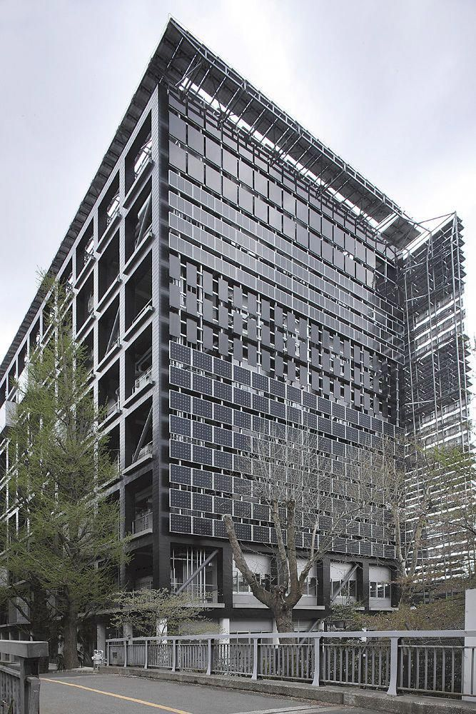 Tokyo Institute Of Technology Solar Panels Wall Solarenergyprojects Solar Roof Solar Panels Solar Energy Projects
