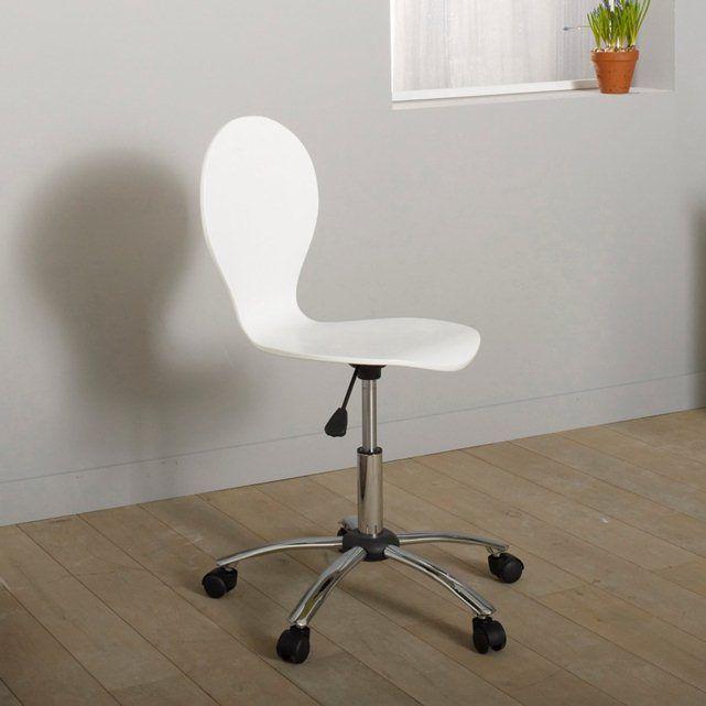 latest chaise de bureau roulettes azzo la redoute interieurs with chaise ikea bureau. Black Bedroom Furniture Sets. Home Design Ideas
