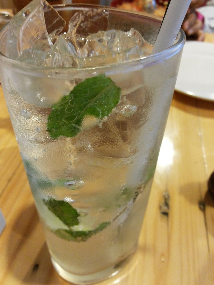lemon mint sparkling