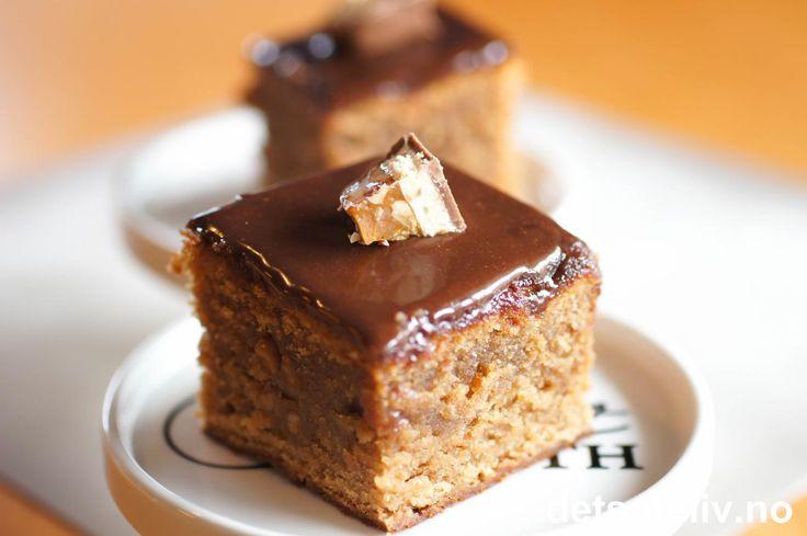 Snickers Bar Cake | Det søte liv