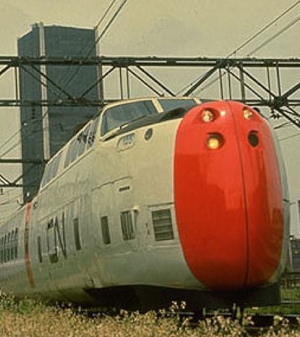 Stumbled onto this interesting find while putting together the CN logo post. The CN Turbotrain was a high-speed train build in the late 1960's. Really interesting lines and I loving the paint on th...