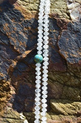 This is Grannycord Antartica from our third collection. Here she is, relaxing on a rock on a beach in Australia - www.grannycords.com.