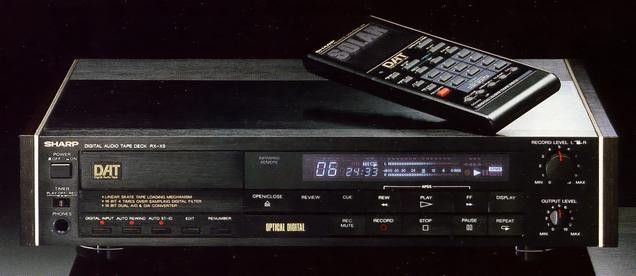SHARP RX-X5 (launched in 1987)