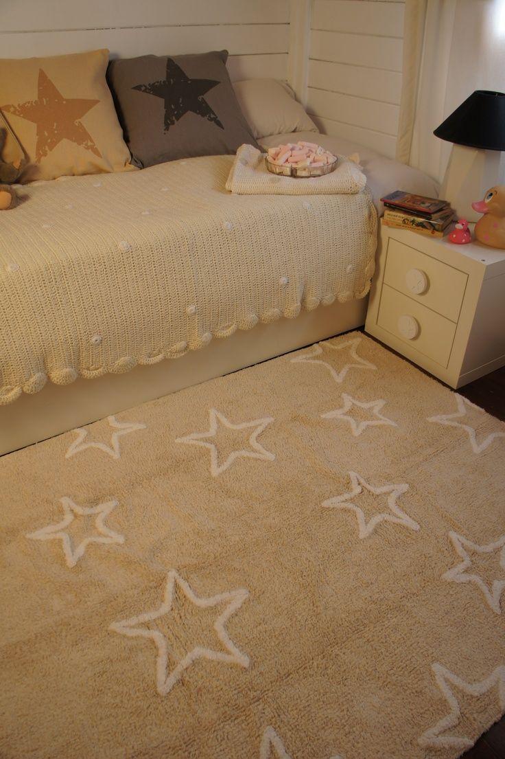 tan star rug - Teppich Babyzimmer Beige