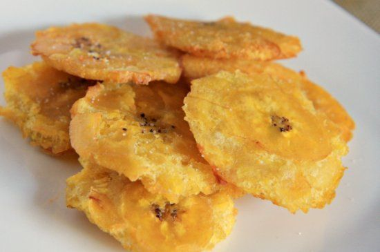 Tostones (Fried Plantains) for those of you who dont know how to make ...