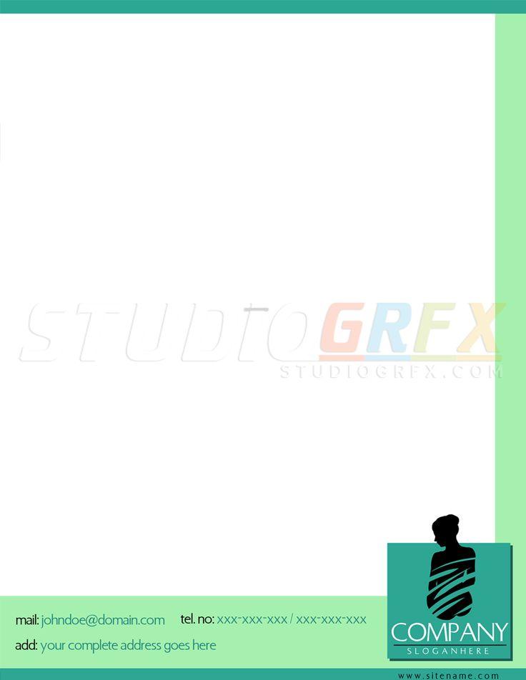 sample letterhead design visit wwwstudiogrfxcom to view my portfolio letterhead - Cover Letter Letterhead