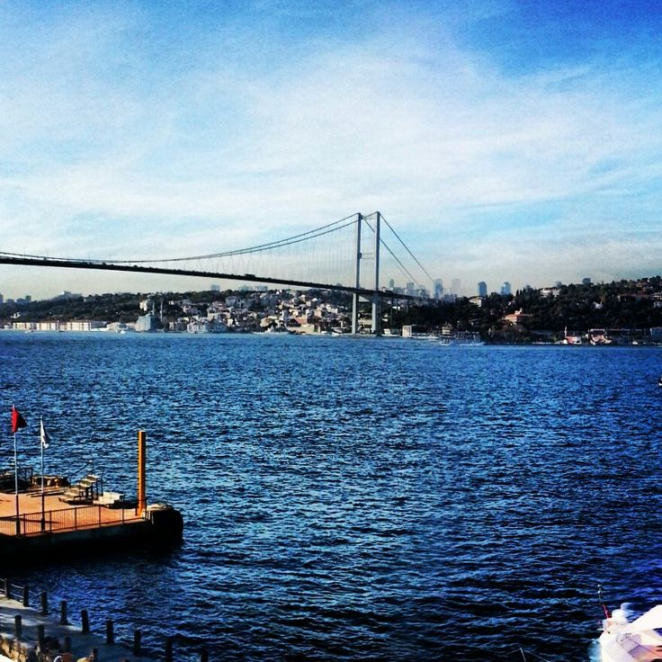 Two continents Istanbul