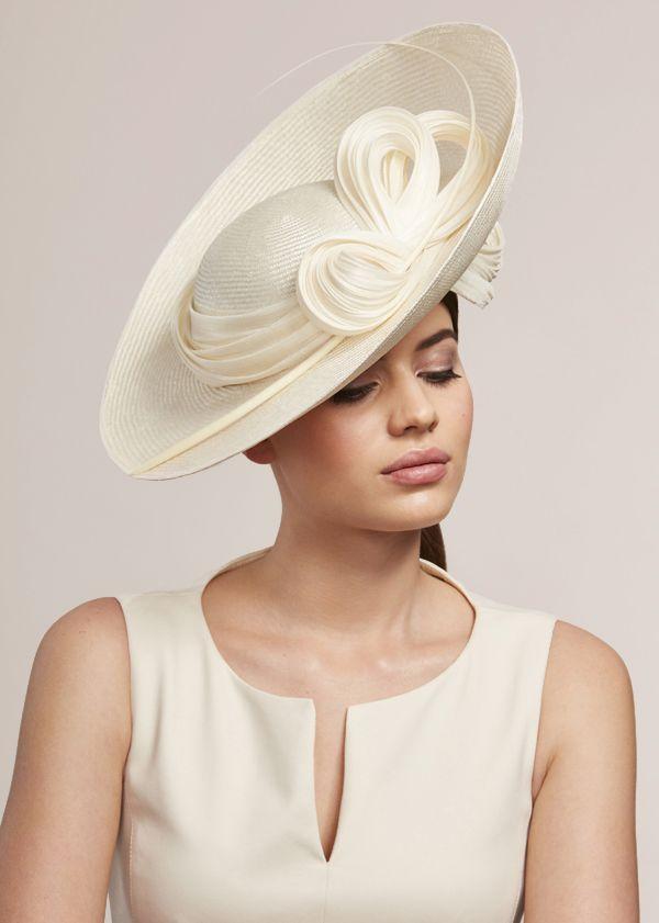 8a2cda24 Big Girl Fashion, White Fashion, African Hats, Bonnets, Wedding Hats, Hat