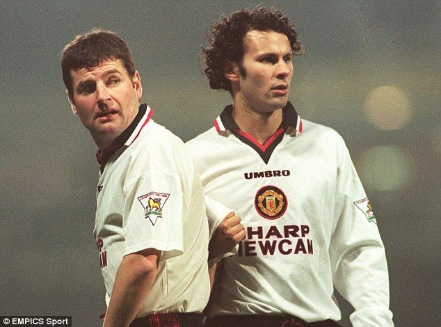 Denis Irwin (left) enjoyed 12 years at United alongside Giggs, and has drawn high praise from Alex Ferguson