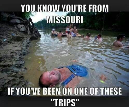 Float trips! Lol this must be big river