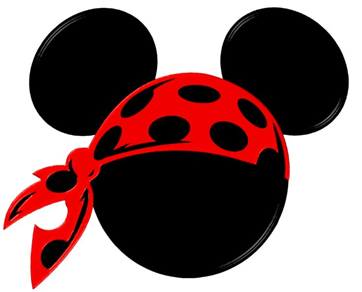 Mickey Heads Speciall for Pirates Party.
