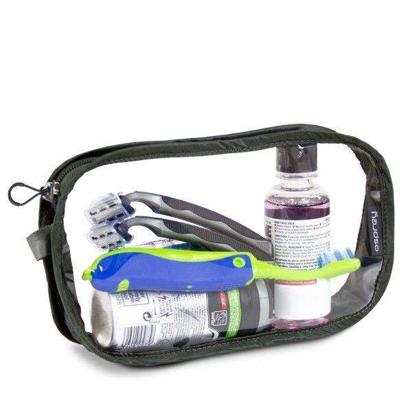 Trousse de toilette de voyage Washbag Carry-On compatible cabine avion