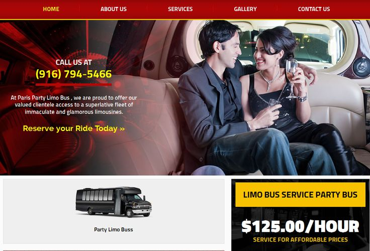 The Yuba City Party Bus rental bus services very offertable and luxury buses provide all events like birthday party marriage function,birthday party and other all. http://www.parislimo916.com