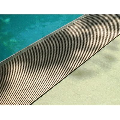 Mats Inc. World's Best Barefoot Anti-Slip Mat Size: 3' x 10', Color: Buff