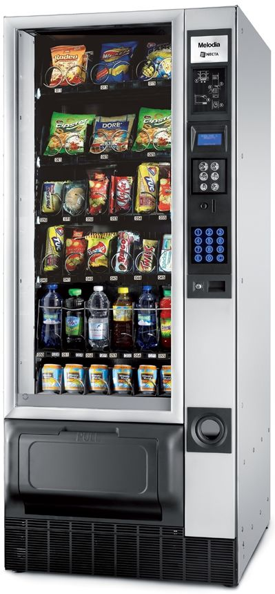 Necta Melodia Combi Snack, Can & Bottle Vending Machine