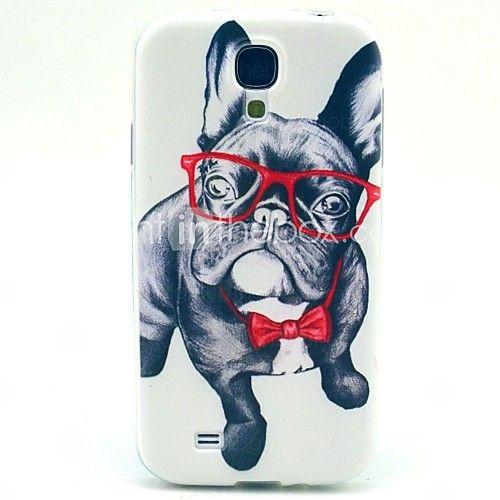 glazen hond TPU zachte hoes voor Samsung Galaxy S4 i9500 - EUR €3.99