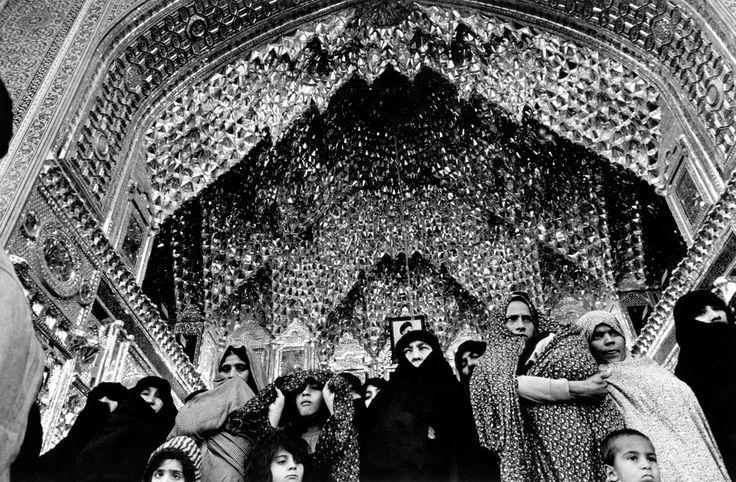 IRAN. Qom. 1979. Mosque.