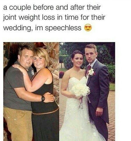wedding weight loss 2 months