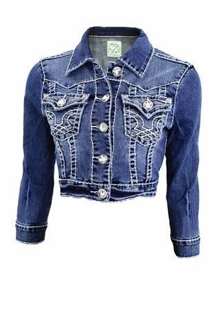 Light Wash Premium Denim Jacket