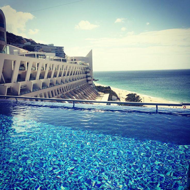 16/06 Bom Dia Sesimbra 11:10 #sesimbra #sesimbrahotelespa #beach #praia #pool #portugal #perfectholidays 👌🏻