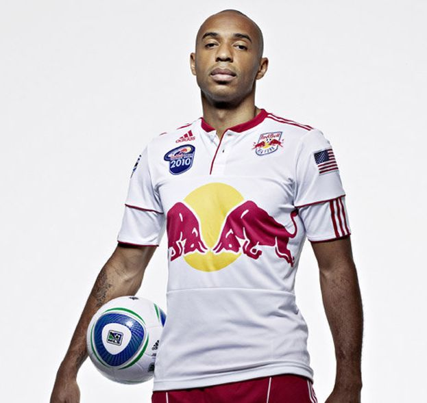 Thierry Henry Striker Of The New York Red Bulls