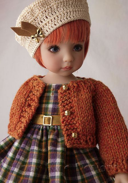 Autumn Sweetie for Effner's Little Darling dolls. cindyricedesigns.com