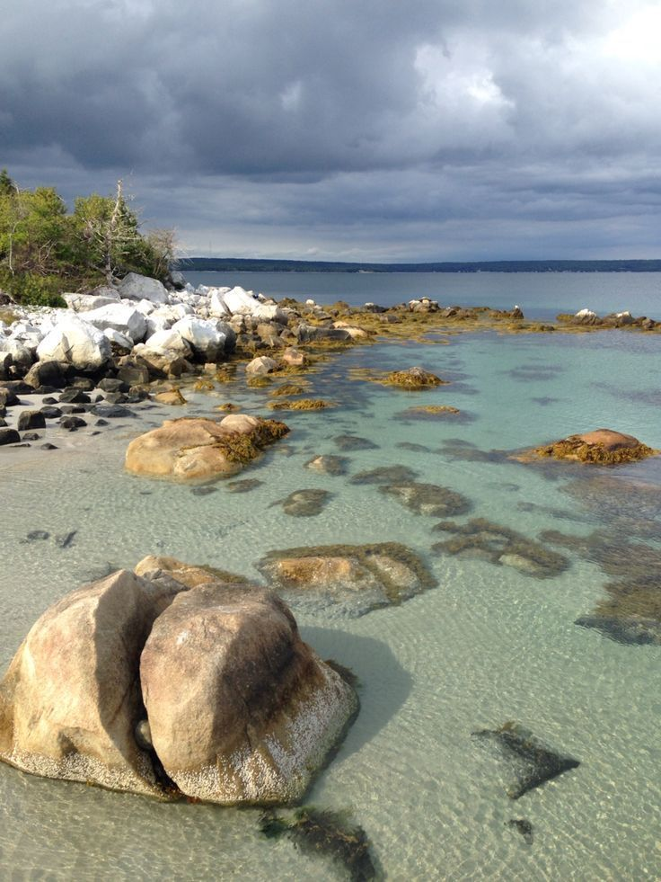 Great photo of Carter's Beach - Port Mouton, Nova Scotia, Canada. And yes...it really looks like this!