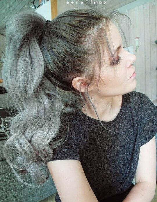 Best Two Ponytails Hairstyles For School girl | hair | Pinterest ...