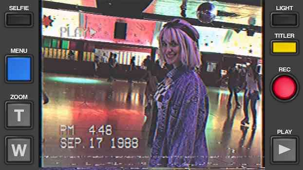 Vhs Camcorder Capture Your 80s And 90s Themed Parties Selfie Light Kendall Jenner The Wiz