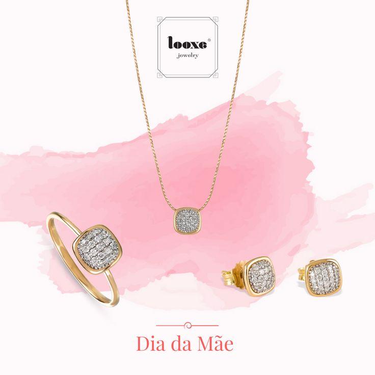 A vida não é apenas para ser vivida, deve ser igualmente celebrada.   As jóias Looxe são uma lembrança diária do seu amor eterno!  JOCOL5266A/JOTRL5266A/JOANL5266A