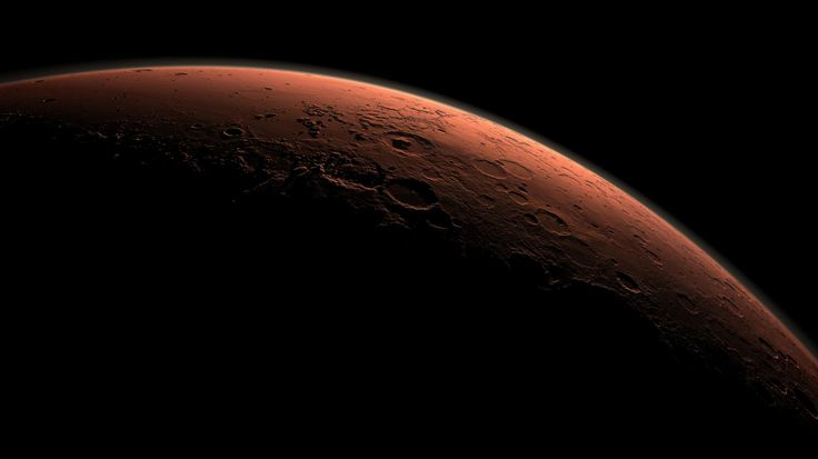 Stunning images of our Solar System.  At 13 miles high, Mars has the highest mountain in our solar system