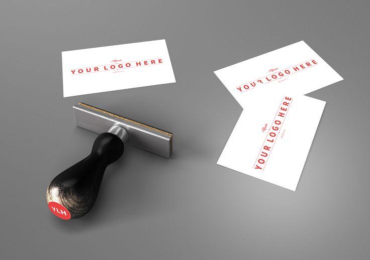 Alfreedo free stuff - Mockup - Stamp 01 - 3d, Table, Paper, Business card, Stamp, Stefano marvulli