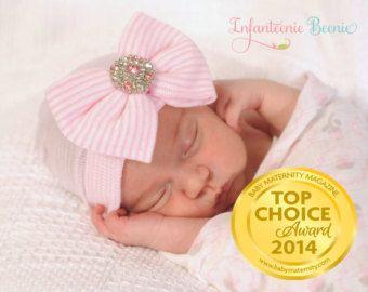 newborn hat newborn outfit newborn headband by InfanteenieBeenie