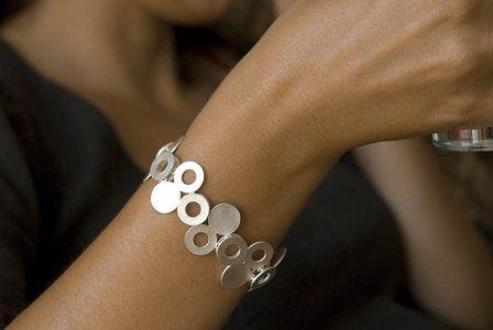 Punto und Circulo; Armband Silber                                                                                                                                                                                 Mehr