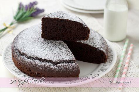 Torta al cioccolato in 5 minuti, ricetta veloce   Ho Voglia di Dolce