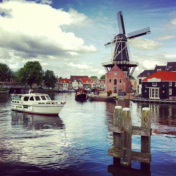 Haarlem windmill #Holland #Netherlands