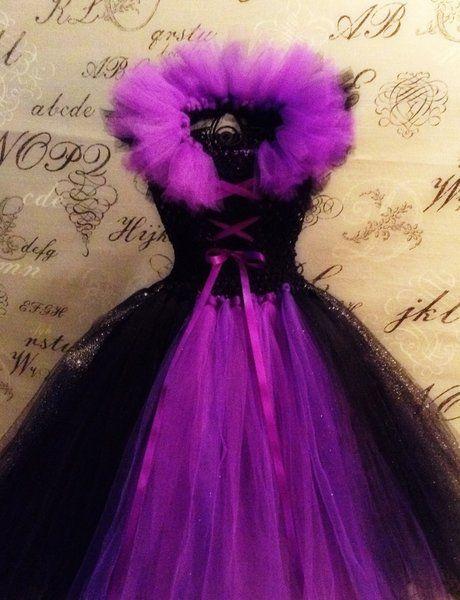 Maleficent Tutu Dress | The Whimsical Stitch