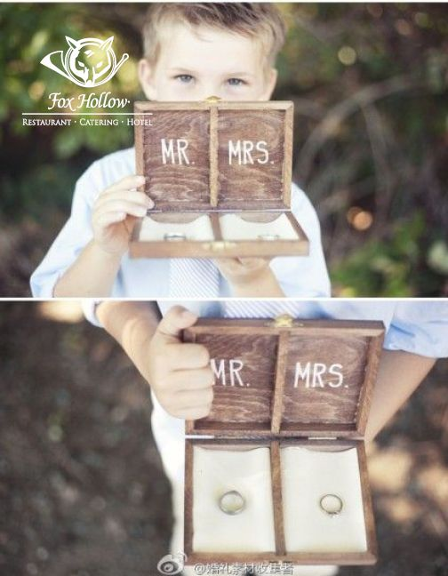 Unique presentation for your #RingBearer