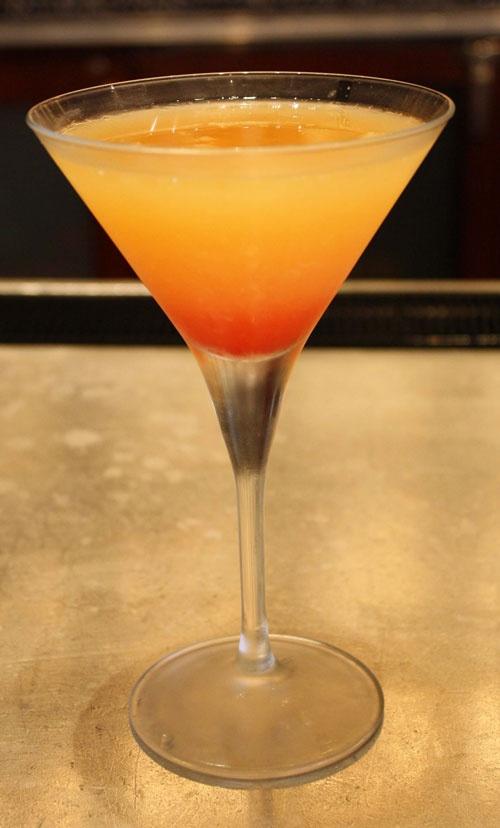 Georgia Peach Martini Citrus vodka, peach schnapps, fresh ...