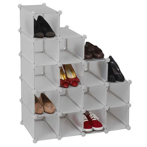 17 best ideas about shoe organizer closet on pinterest purse organizer closet container store - Best shoe storage solutions for small spaces paint ...