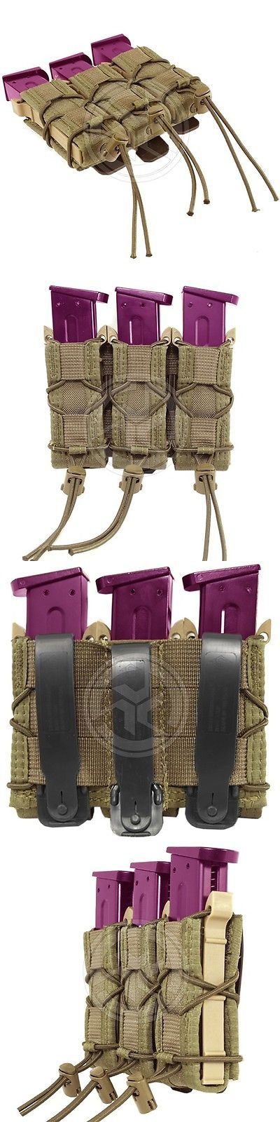 Tactical Molle Pouches 177900: Hsg High Speed Gear Triple Pistol Magazine Taco Molle Tool Pouch Coyote Brown -> BUY IT NOW ONLY: $75 on eBay!