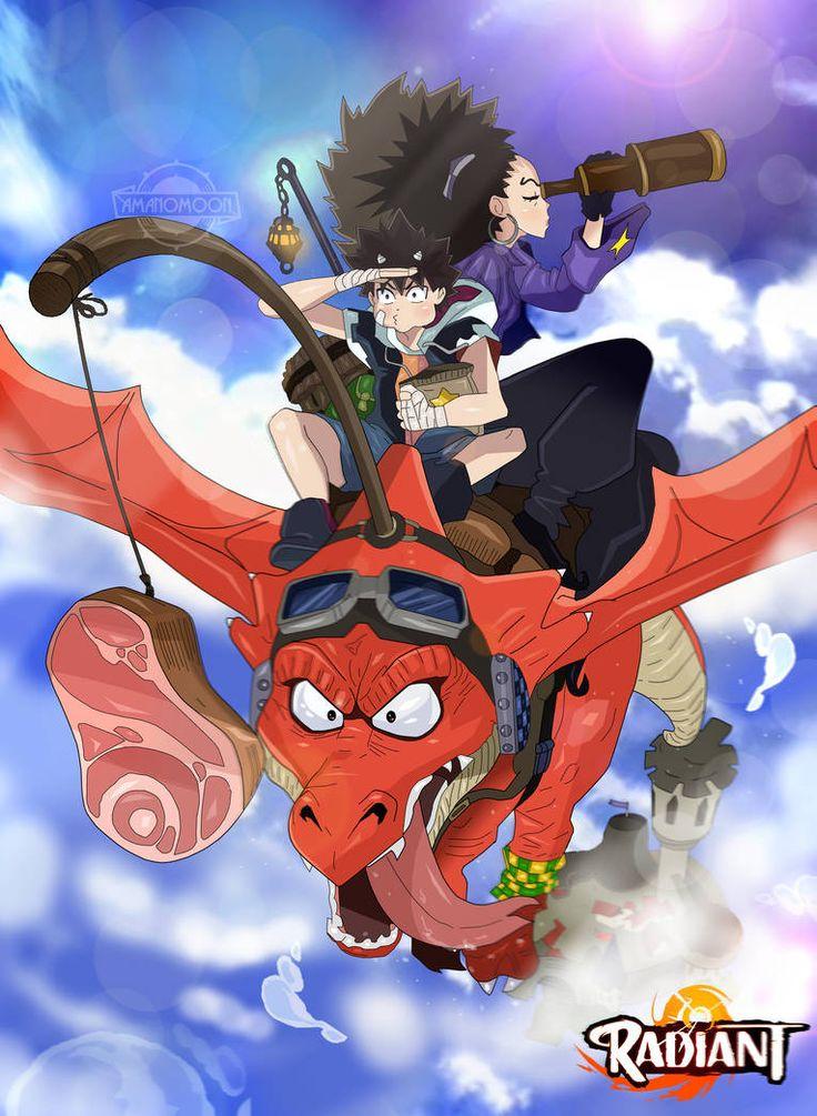 Radiant Seth & Alma Anime, Radiant, Manga