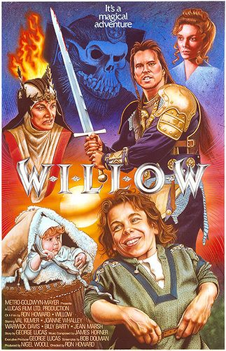 Willow Movie Poster~~I watched this movie so many times when I was little. I had to buy it as an adult.