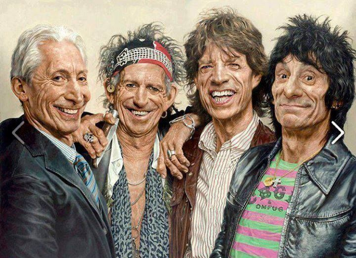 Rolling Stones getting old but keeping Rock alive!