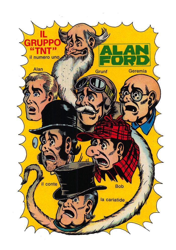 Alan Ford18 - novembre 1970 - Il cane da un milione di dollari  - Adesivo Allegato
