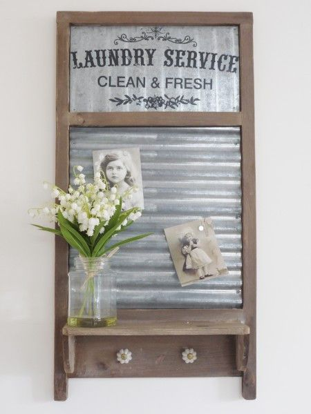Retro Washboard Shelf from Olive and Sage