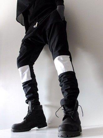 hba hood by air hoodbyair hood by air menswear zip mens pants urban menswear blvck street goth fashion dark